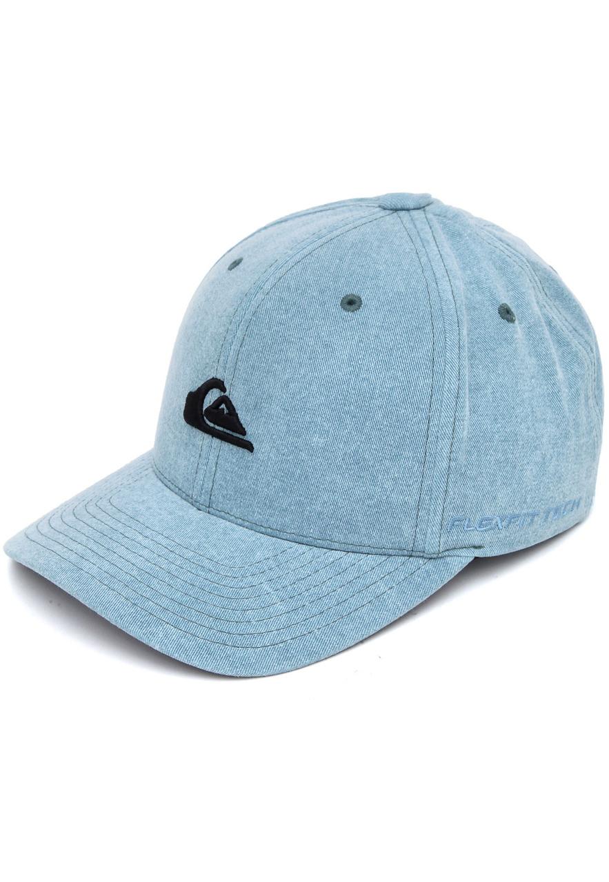 Boné Quiksilver Washing Azul