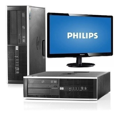 Kit Desktop Hp 8300 Core I5 3ª 3.10ghz 8gb 1t + Monitor Philips