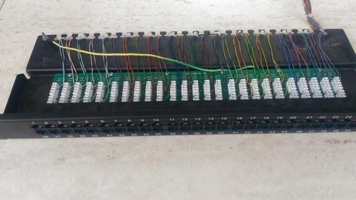 Patch Panel Cat5e 24p Sohoplus Usado