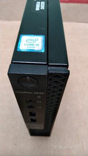 Usado Cpu Mini Dell Optiplex 3040 Core I5 6500t 4gb 500gb