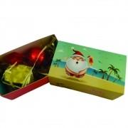 4 Caixas Lembrancinha Feliz Natal Pão Mel Trufa Presente