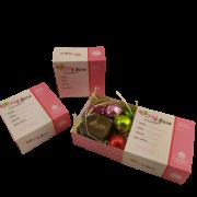 4 Caixas Lembrancinha TPM Trufas Chocolates Gourmet Presente
