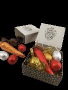 6 Lembrancinhas Chocolate Com Amor Feliz Páscoa Família
