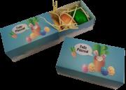 7 Caixas Feliz Páscoa Ovinhos Gourmet Lembrancinha Amigos