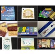 Brindes corporativos personalizados em chocolate- Tabletes e Cintas - Preço Sob consulta
