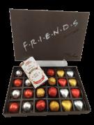 Caixa Chocolate Corações Trufas Marshmallow Presente Felicidade