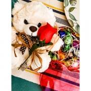 Caixa Coração Trufas Presente de Chocolate Dia Das Mães Avós