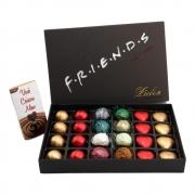 Caixa de Chocolate Corações Trufas Marshmallow Presente Amor