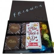 Caixa de Chocolate Friends Pão de Mel Trufa Bombom Presente