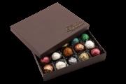 Caixa de Chocolate Trufa Gourmet Presente Professores Mestre