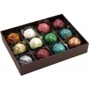 Caixa de Chocolate Trufas Gourmet Presente Aniversário