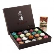 Caixa de Chocolate Trufas Gourmet Recheada Sortida Presente