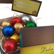 Caixa de Presente Com10 Bombons Especiais Recheados Deliciosos Chocolates Gourmet