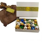 Caixa de Presente Com 40 Bombons Especiais Recheados Deliciosos Chocolates Gourmet