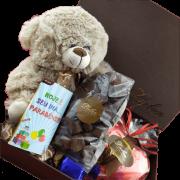 Caixa Super Premium Chocolates Sortidos e Pelúcia Fofura
