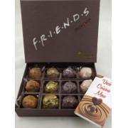 Caixa Super Premium Friends 12 Trufas Felicidade Amor Paixão