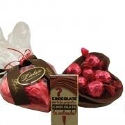 Cesta Chocolates Presente Madrinha Padrinho Pão De Mel Trufa
