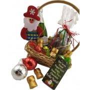 Cesta Natal Prosperidade Presente Amigo Secreto Chocotone