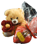 Chocolate Presente Criativo Dia das Mães Pelúcia Encantada