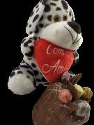 Chocotone Trufado Chocolate Pelúcia Carinho Presente Natal