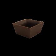 Copinhos para Doces de Festa Formato Caixinha Chocolate Ao Leite - Cento