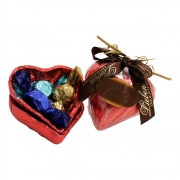 Coração Ao Leite 370g Presente Hoje É Seu Dia Parabéns Amor