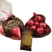 Coração De Chocolate Ao Leite 370g com Bombons Presente