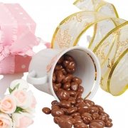 Drágeas de Chocolate ao leite com Passas 500g