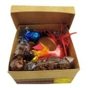 Kit Chocolate Presente  Aniversário Coração Recheado Bombons