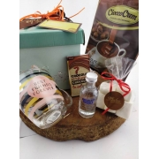 Kit Chocolate Quente Cremoso Caneca Vodka Marshmallow Amor