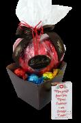 Kit Chocolate Sortidos Presente Pão de Mel Trufas Namorados
