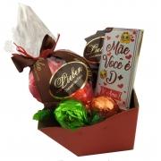 Kit Chocolates Presente Aniversário Trufa Mãe Sogra Avó Amor