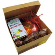 Kit de Chocolates sortidos com coração feliz aniversário
