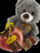 Kit Presente Paixão Coração de Chocolate Pelúcia Amor Eterno