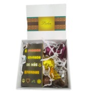 Mini Kit Chocolates Sortidos Presente Criativo Boas Energias