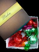 Trufas Chocolate Sortidas Artesanal Gourmet Presente Campos 25 unidades
