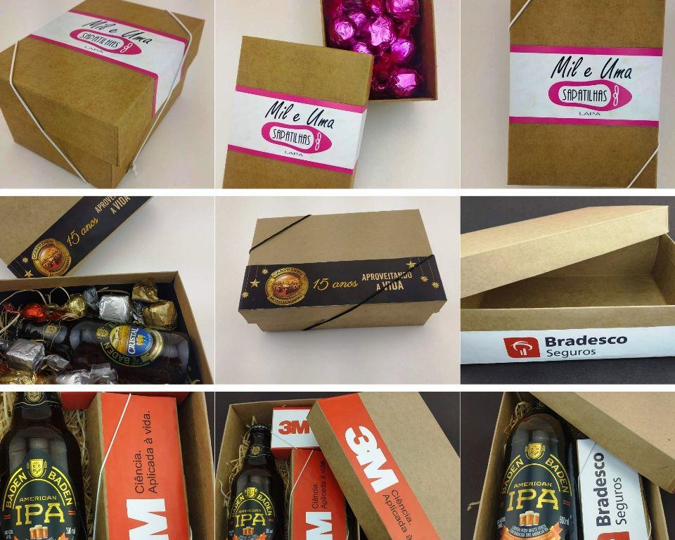 Brindes corporativos personalizados - Caixa Baú - Preço Sob consulta