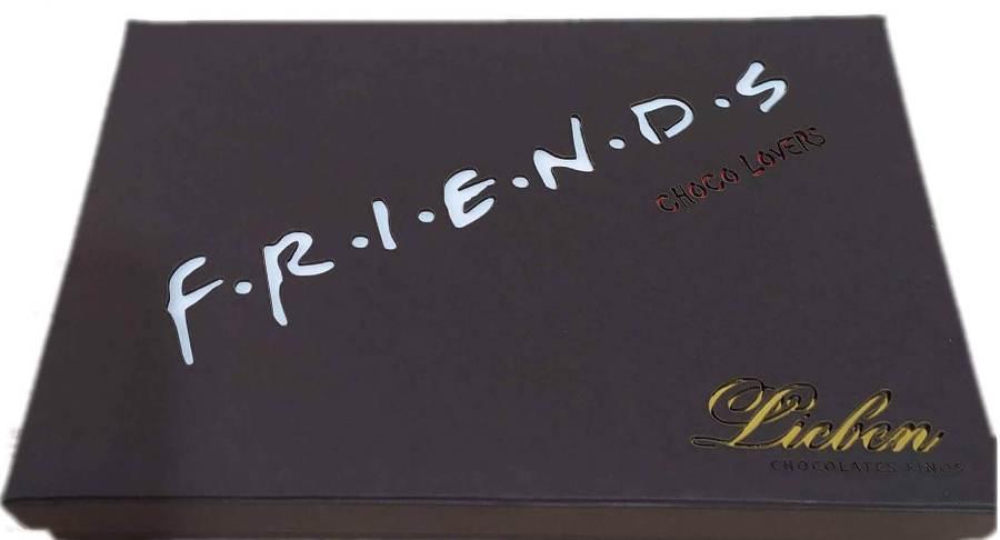 Caixa Chocolate Super Premium Friends Pão de Mel Presente
