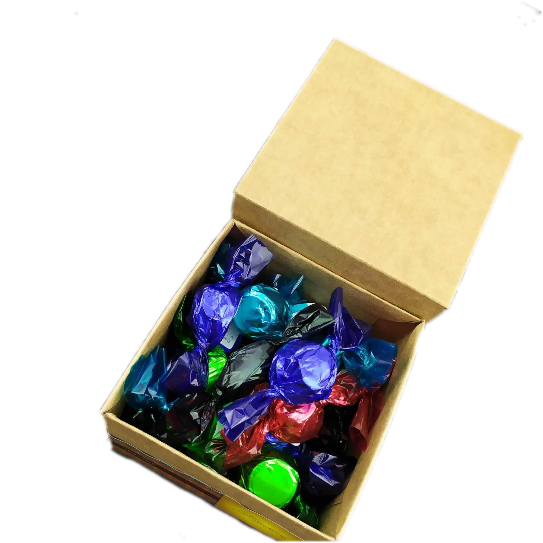 Caixa com 20 bombons recheados e sortidos