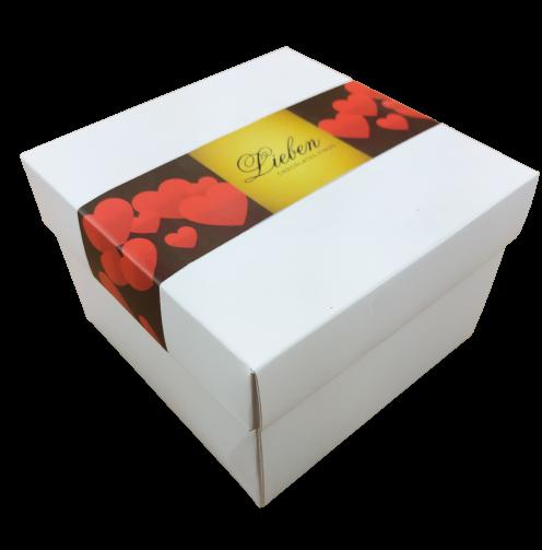 Caixa com 25 Trufas Chocolate Sortidas Artesanal Gourmet Presente Campos
