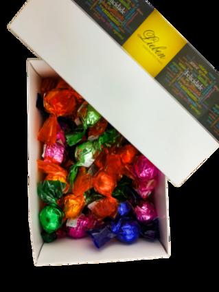 Caixa Com 40 Trufas Sortidas Chocolate Artesanal Gourmet Presente Campos