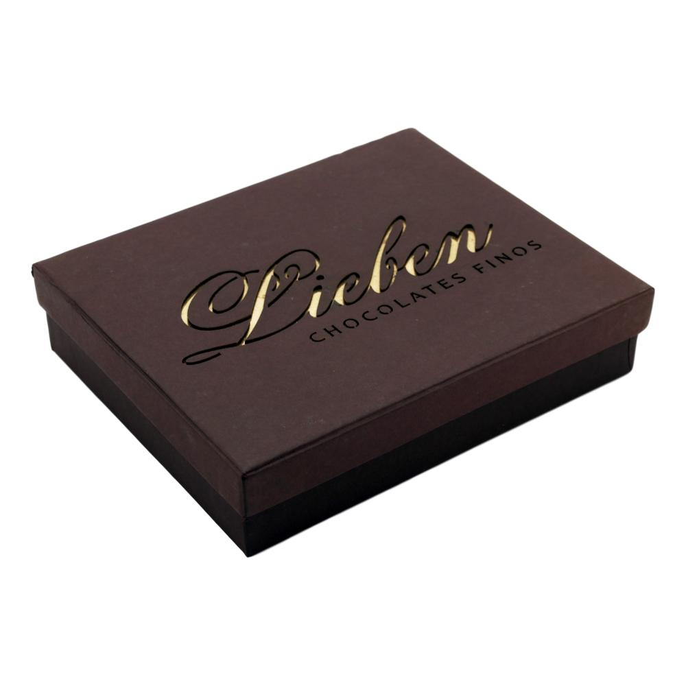 Caixa de Chocolate com Corações Presente Super Amigo Querido