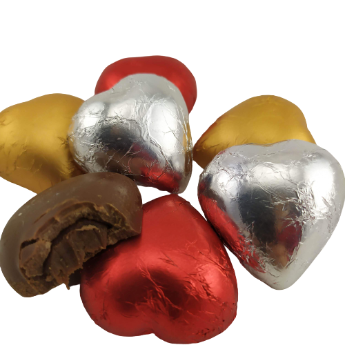Caixa de Chocolate Coração Pelúcia Amor Namorados Te Amo