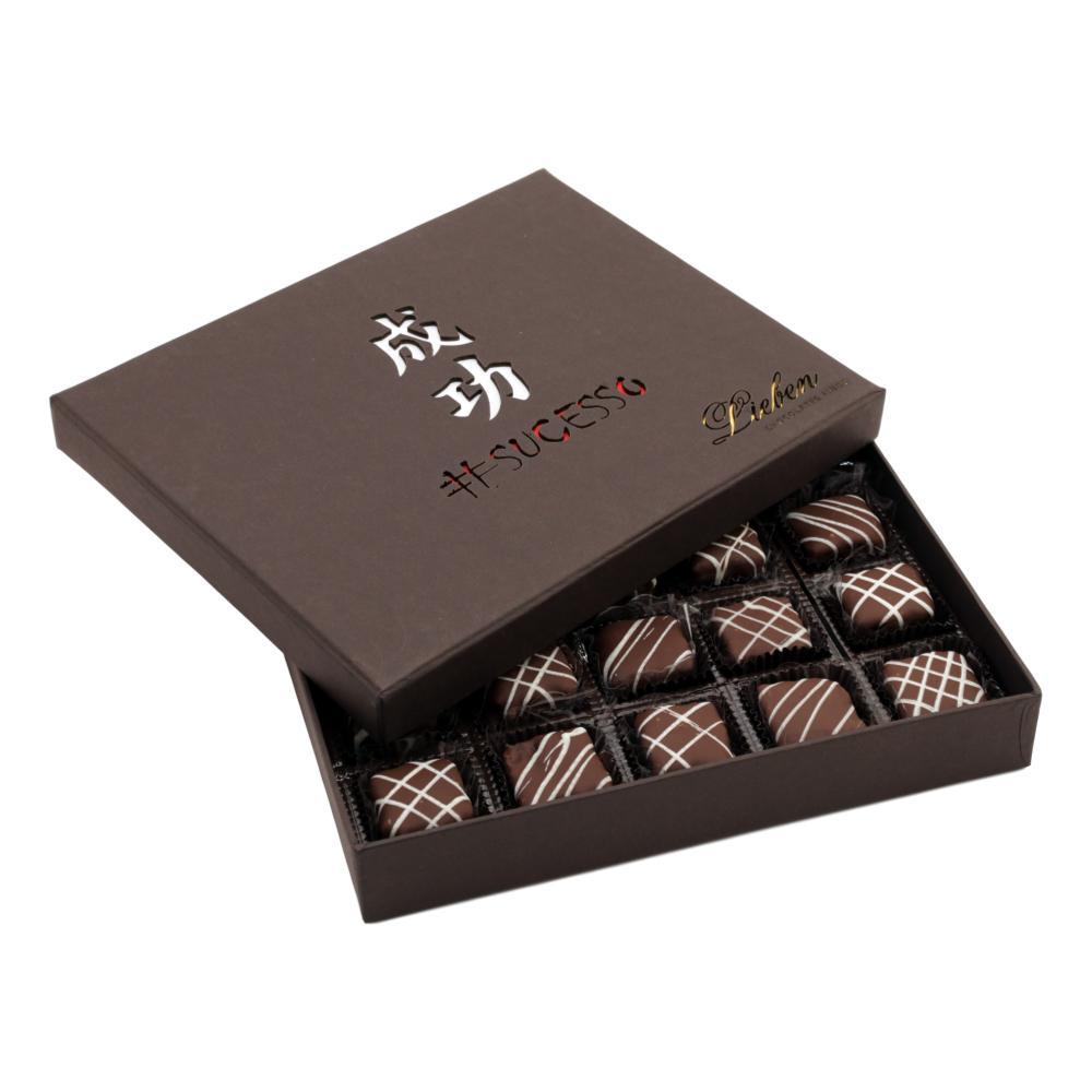 Caixa de Chocolate Pão de Mel Recheado Sortido Presente