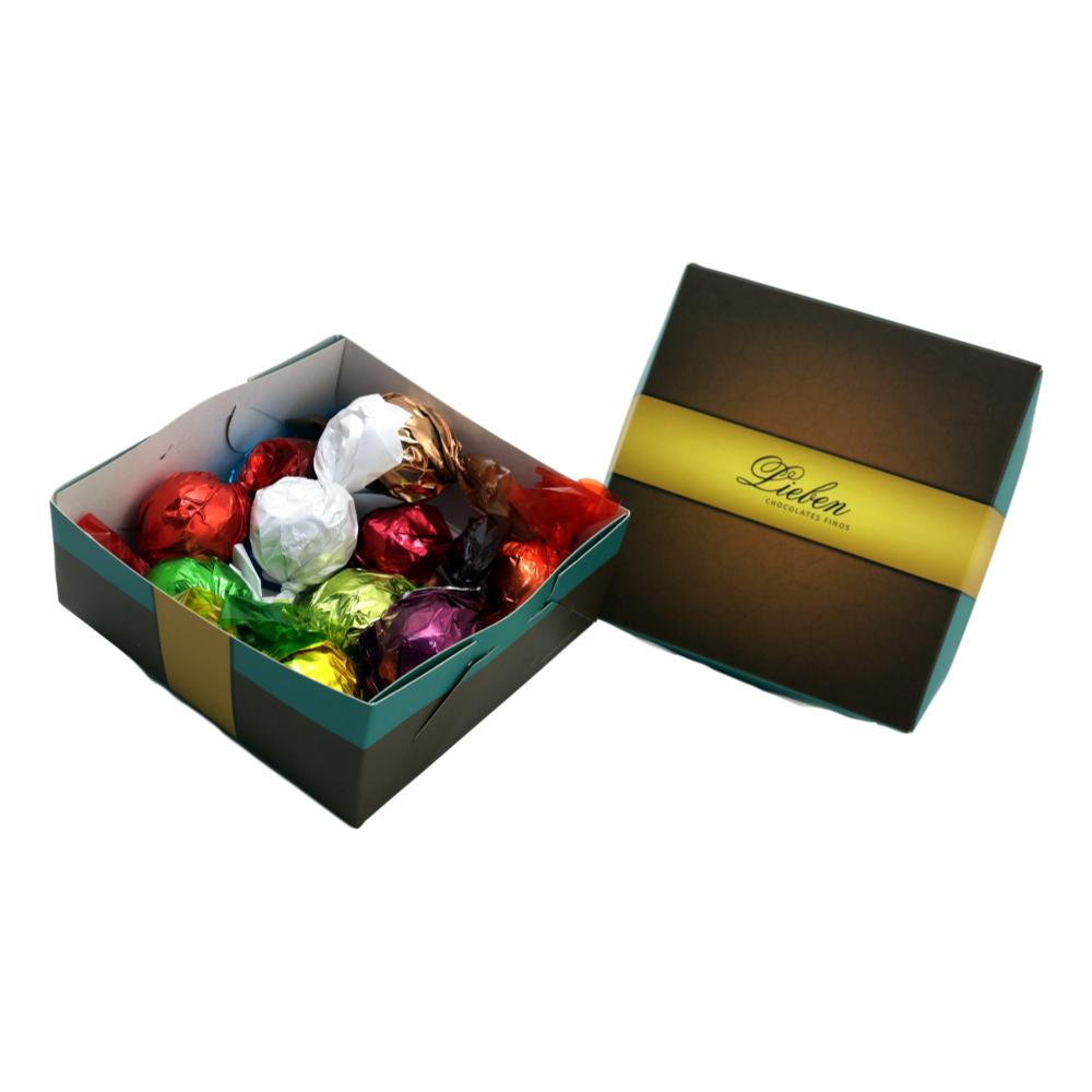 Caixa de Chocolate para Presente Lieben 10 trufas sortidas