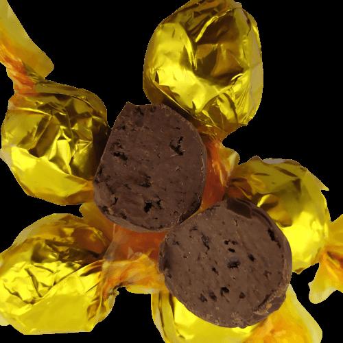 Caixa de Chocolate Trufas Gourmet Presentei com Gratidão Dia Dos Pais
