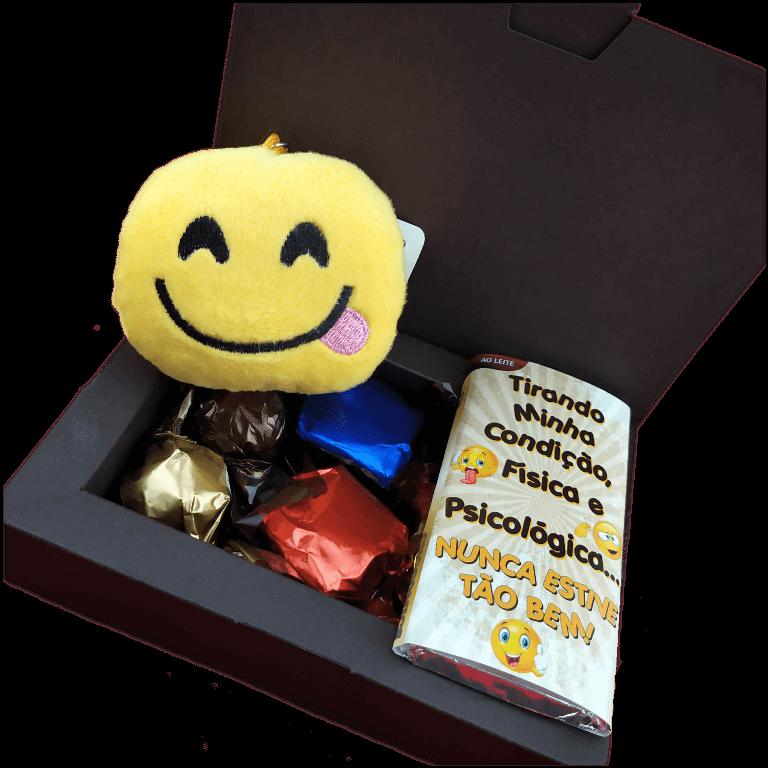 Caixa de Chocolates Sortidos Pelúcia Emotion