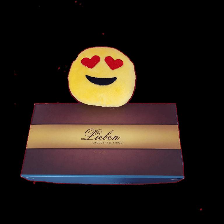 Caixa de Corações Sortidos com Pelúcia Emotion Divertida