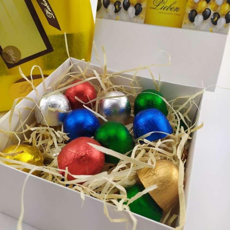 Caixa de Presente Com 25 Bombons Especiais Recheados Deliciosos Chocolates Gourmet