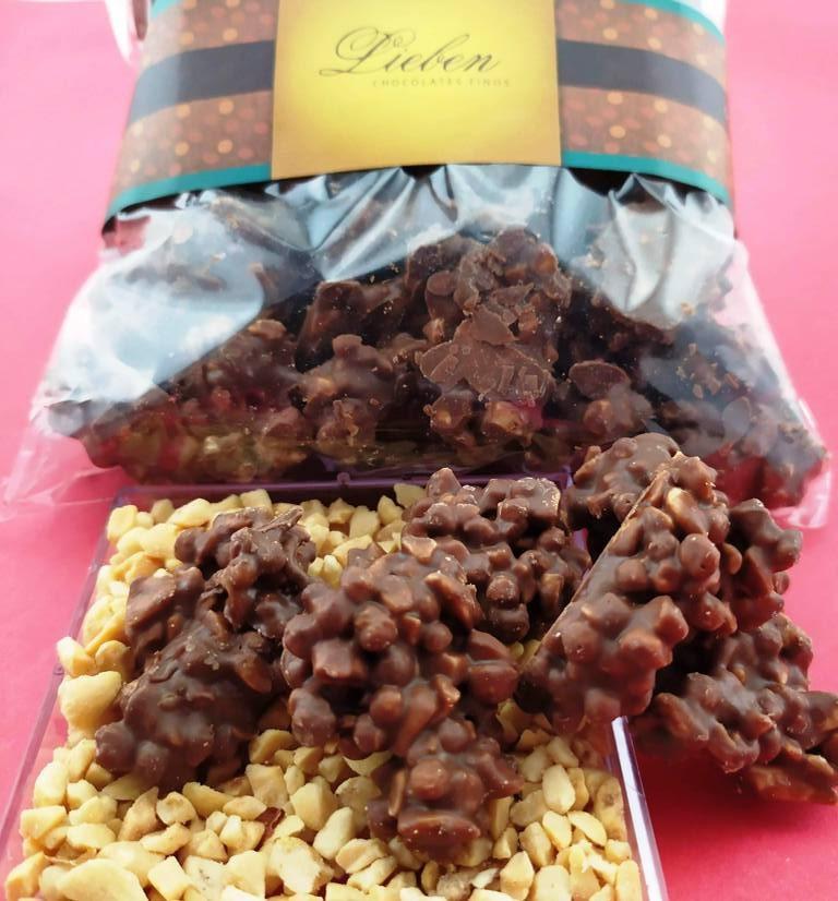 Caixa mini crespinho crocante de amendoim com 475g